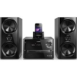 PHILIPS DVD Micro Music System [DTD3190] - Black - Hi-Fi